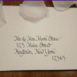 Calligraphy by Michele