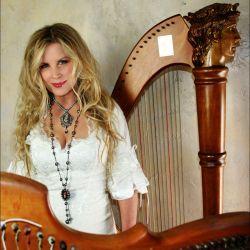 Harpist Carol Tatum
