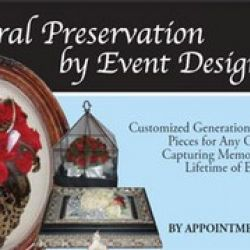 Preserve Your Florals by Event Designs