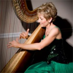 Professional Musician Harpist